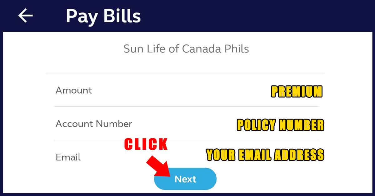 How to Pay Sun Life Insurance Plan via GCash 04