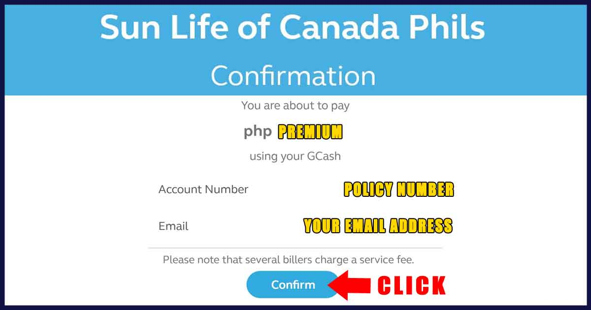 How to Pay Sun Life Insurance Plan via GCash 05
