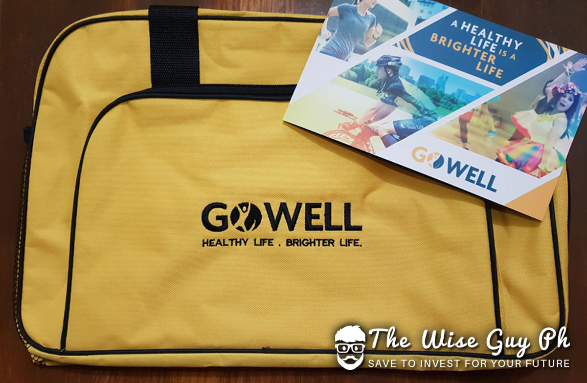Get a FREE GoWell Swag bag once you avail Sun Fit and Well plan