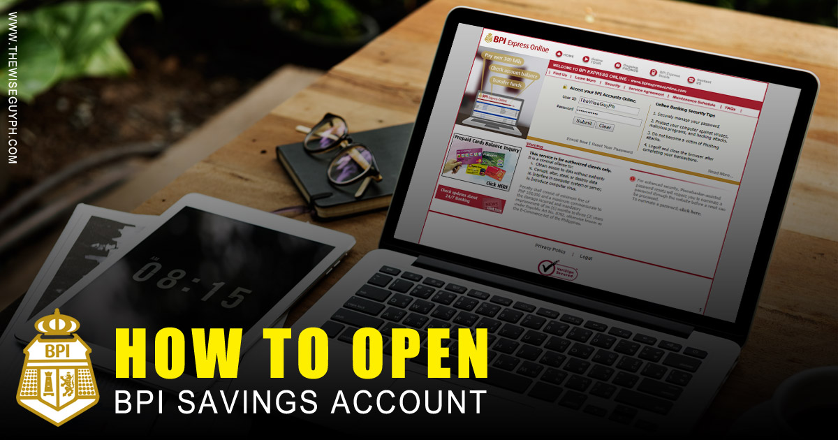 How to open BPI Savings Account