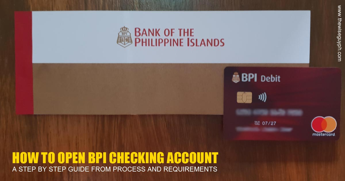 BPI Checking Account