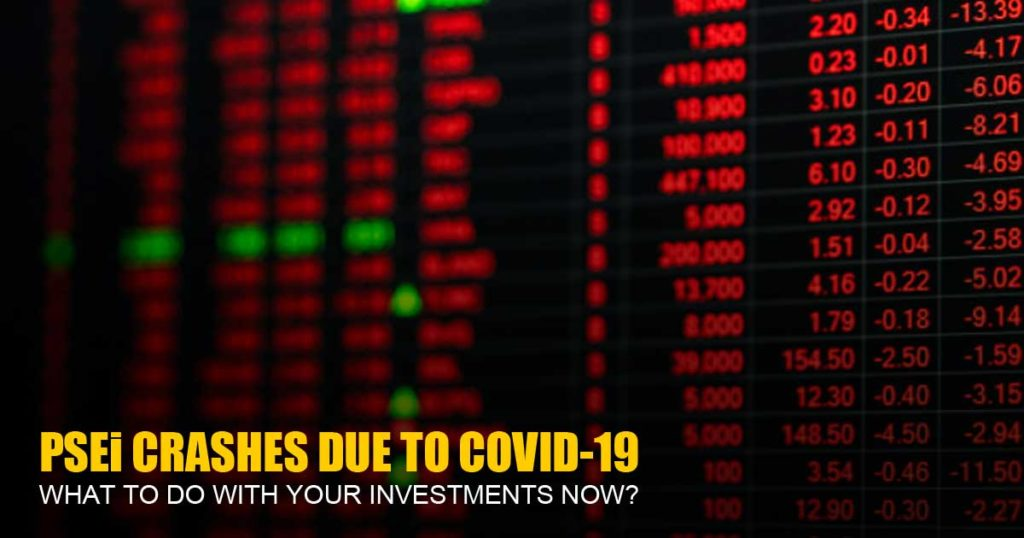 PSEi crashes due to COVID-19 Pandemic