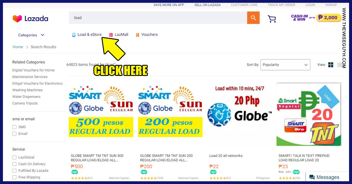 How to Save Money on Prepaid Load via Lazada