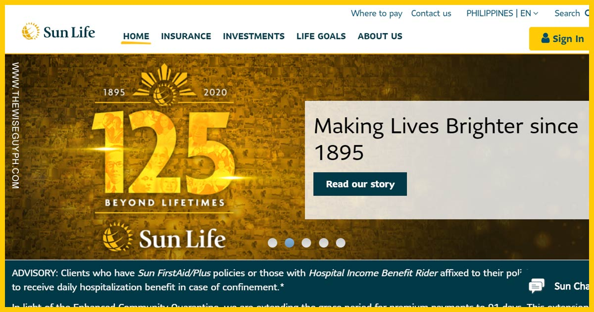 Register Sun Life Insurance Policy Online