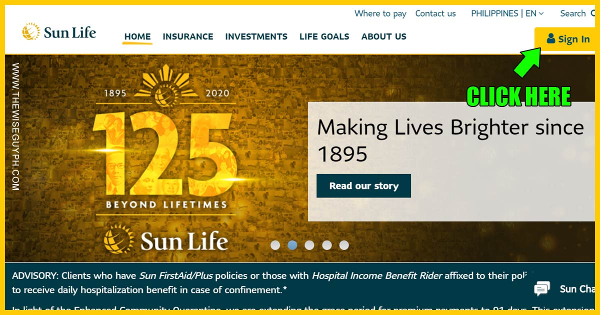 Register Sun Life Insurance Policy Online 02