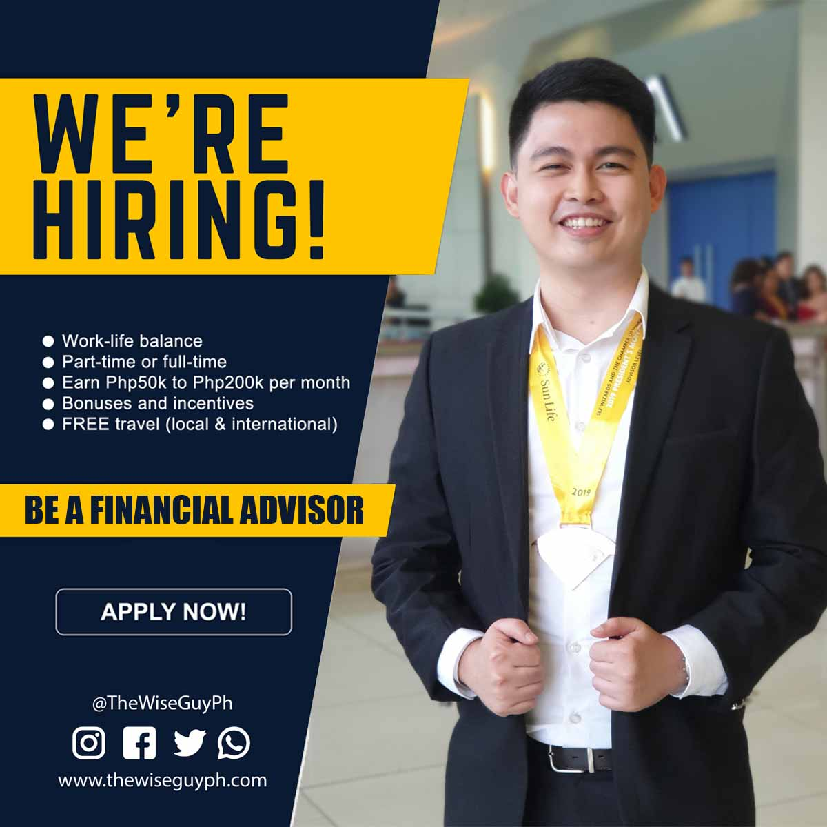become a financial advisor