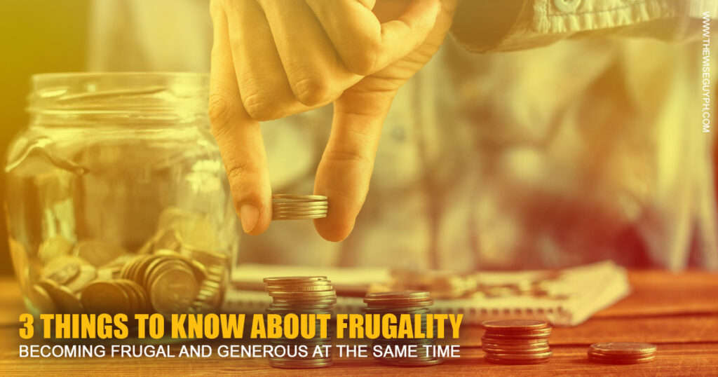 frugal and generous